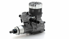 ASP 25AII 2 Stroke Glow Engine with Muffler for Airplane 72P-25AII