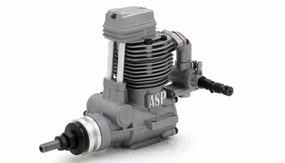ASP FS61AR 4 Stroke Glow Engine with Muffler for Airplane 72P-FS61AR