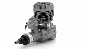 ASP FS80AR 2 Stroke Glow Engine with Muffler for Airplane 72P-FS80AR