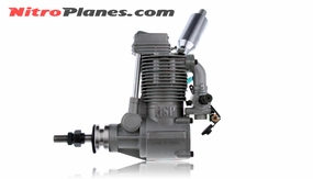ASP FS91AR 4 Stroke Glow Engine with Muffler for Airplane 72P-FS91AR