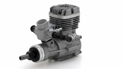 ASP S36A  2 Stroke Glow Engine with Muffler for Airplane 72P-S36A
