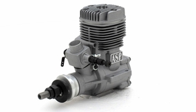 ASP S91A  2 Stroke Glow Engine with Muffler for Airplane 72P-S91A