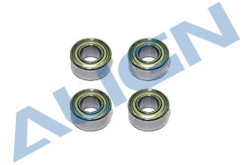 Bearing MR63ZZ x 4 (??3x??6x2.5mm) HS1030