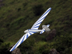 Blue Habciht 2600mm Remote Control Model Airplane Glider ARF ARF_Sailplane-Habicht-Blue