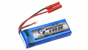 Blue Lipo 1800mAh 3S1P 11.1v 20C Battery