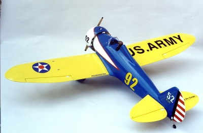 """Boeing P-26 Peashooter 90 - 71"""" ARF Nitro Gas Radio Remote Controlled Aerobatic RC Aircraft - Almost-Ready-to-Fly Plane CMP-Gas-Peashooter90"""