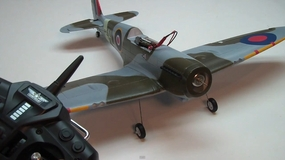 Building the AirField 800mm Spitfire RC Warbird by Jeff