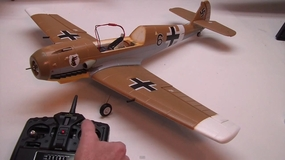 Building the AirField BF-109 Messerschmitt by Jeff