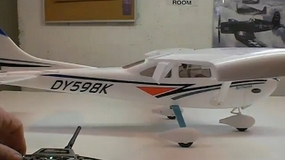 Building the Dynam Cessna Sky Trainer 182 By Jeff