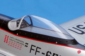 Canopy - CMP P51 (140) CMP-Mustang140-CANOPY