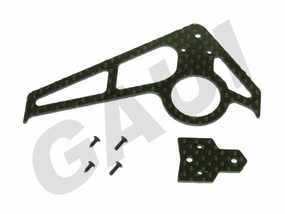 CF Fin & Tail(A Type)-Black GauiParts-203601