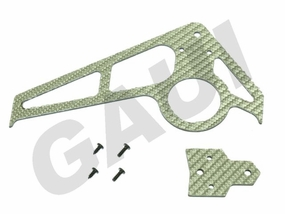 CF Fin & Tail(A Type)-Silver GauiParts-203603