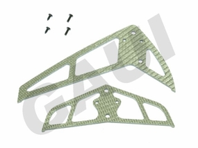 CF Fin & Tail(B Type)-Silver GauiParts-203604