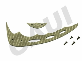 CF Fin & Tail(C Type)-Silver GauiParts-203605
