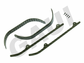 CF Landing Gear Brace and Skid Set-Silver GauiParts-203680