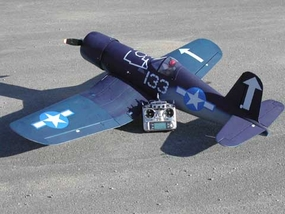 "CMP F4U Corsair 120 - 75.5"" Review by RCUniverse.com's Erick Royer"