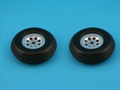 CMP Fairchild PT-19 68mm Metal Wheel CMP-Z31-Fairchild-PT19-68mm-Wheel