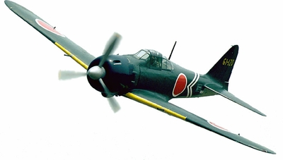 "CMP Mitsubishi A6M5 52 Zero Fighter 120 - 71"" Scale Nitro Gas Radio Remote Control Warbird Airplane CMP-Gas-ZeroFighter120"