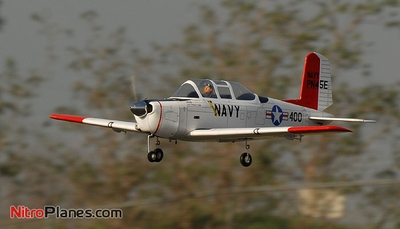"CMPro U.S. Navy T-34 Mentor 40 - 58"" Nitro Gas Radio Controlled Airplane w/ Retracts! ARF-Version CMP-071-T34"