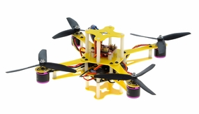CR4-230 QuadCopter w/ MWC Board Brushless Motor, 12A ESC ARF (Yellow) RC Remote Control Radio