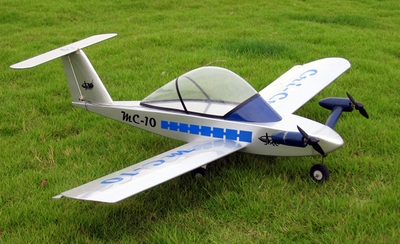 Cri Cri 4-Channel ARF Electric Radio Remote Controlled Twin Engine Jet Aircraft Almost-Ready-to-Fly 17A19_CriCri