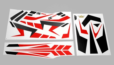 Decal Sickers (Red) 95A90-21-DecalStickers-Red