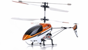 Double Horse 9051 3-Channel Super Metal Frame RC Helicopter w/ Built in Gyro & Flashing LED Lights RC Remote Control Radio
