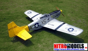 "Double Trouble P-51D Warbird Mustang 60 - 70"" Spare Parts"
