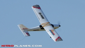 Dynam 4-CH 'I Can Fly' 1200MM Brushless RC Remote Control Trainer Plane 2.4G RTF RC Remote Control Radio