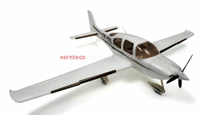 Dynam 4-CH SR Trainer 965MM Brushless Remote Control RC Plane 2.4G RTF (White) RC Remote Control Radio
