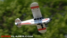 Dynam 4-CH Super J3 Cub PA-18 1070MM Brushless   Scale Trainer RC Plane 2.4G RTF RC Remote Control Radio 60A-DY8927-SuperCub