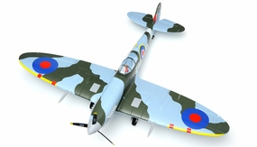Dynam 5-CH Spitfire 1200mm RC Remote Control ARF  w/Motor ESC & Electric Retracts RC Remote Control Radio