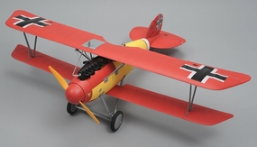 Dynam Albatros 4-CH Remote Controlled RC Bi-Plane 1270mm Fighter Aircraft 2.4gHz Ready to Fly RC Remote Control Radio