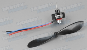 Dynam Brushless Motor & Propellers for Hawk Sky 60P-HAWK007-BM2810-KV2300