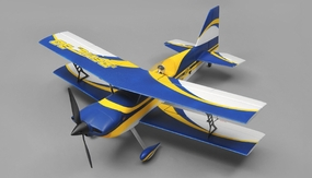 Dynam Devil 4 Channel 3D Sport Aerobatic Bi-Plane Ready to Fly 2.4ghz 1016mm Wingspan RC Remote Control Radio