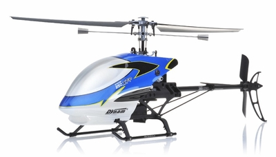 Dynam E-Razor 250 XFP Fixed Pitch 4 Channel RC Helicopter RC Remote Control Radio
