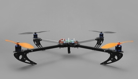 Dynam RC 6 Channel Quadcopter 650 Almost Ready to Fly RC Remote Control Radio