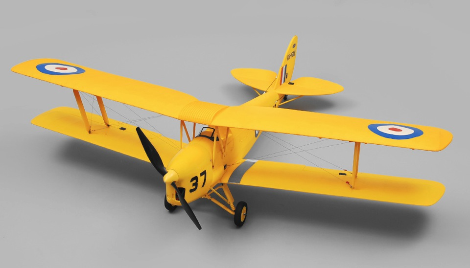 Vertical stabilizer Spare Parts For Dynam Tiger Moth DY8957 1270mm Wingspan