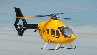 EC135 450? Pre-Painted Glass Fiber Fuselage for 450 Size Helicopters Yellow/Black 67P-450-EC135-404-YellowBlack