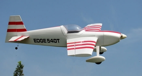 Edge 540 - 120 Nitro Gas Remote Control Airplane Kit