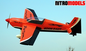 "Edge Fury 540T 40 - 52"" Acrobatic Nitro Gas Radio Remote Controlled RC Plane"