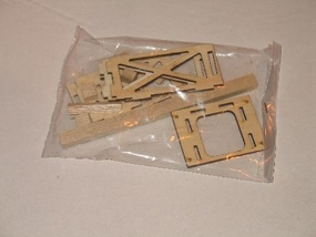 Electric Pitts Part Front Wooden Pieces Set