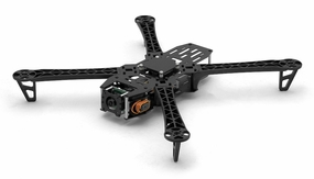 EMAX Aphid X450 FPV Quadcopter Aircraft Frame Kit with CCD Camera Lens-Fiber Glass 66P-152-Aphid-X450-FPV-Quadcopter