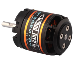 EMAX GT2820-07 850kv Brushless Motor for Airplanes GT Series Brushless Motor Nitro Replacement Electric Conversion 66P-173-GT2820-07-KV850