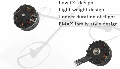 EMAX MT2808 660KV Brushless Motor for Multirotors (CCW Thread)