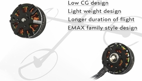 EMAX MT3510 600kv Brushless Motor for Multirotors (Plus Thread)