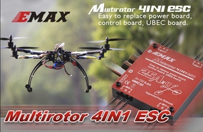 EMAX Simon Series Multirotor 4 in 1 ESC (4*30A)