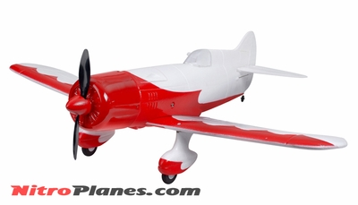 "EP 26"" Aerobatic Geebee Scale Remote Control Plane Airframe KIT(Red)"