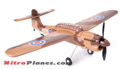 "EP 35"" Aerobatic Barracuda Scale Remote Control Plane KIT Airframe (Brown)"