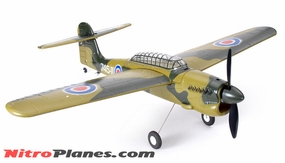 EP 35� Aerobatic Barracuda Scale Remote Control Plane KIT Airframe (Green)